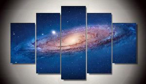 Universe Star Amazing Canvas 5 Pcs Wall Art