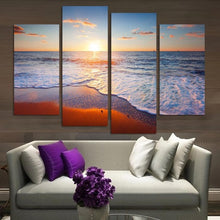 Beautiful Ocean 4 Pcs Canvas Set