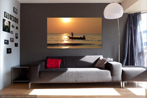 Fishing Single Canvas