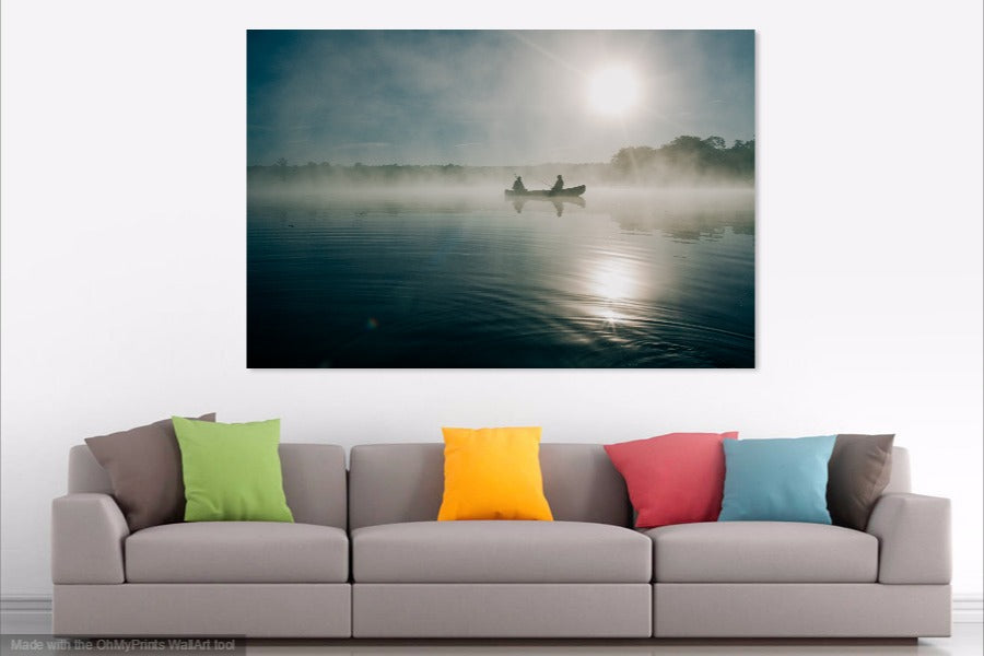 Fishing Boat Single Canvas