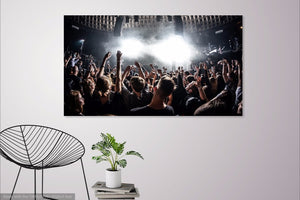 Music Concert Single Canvas