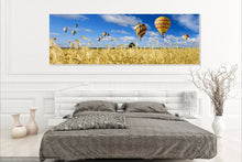 Air Baloons Single Canvas