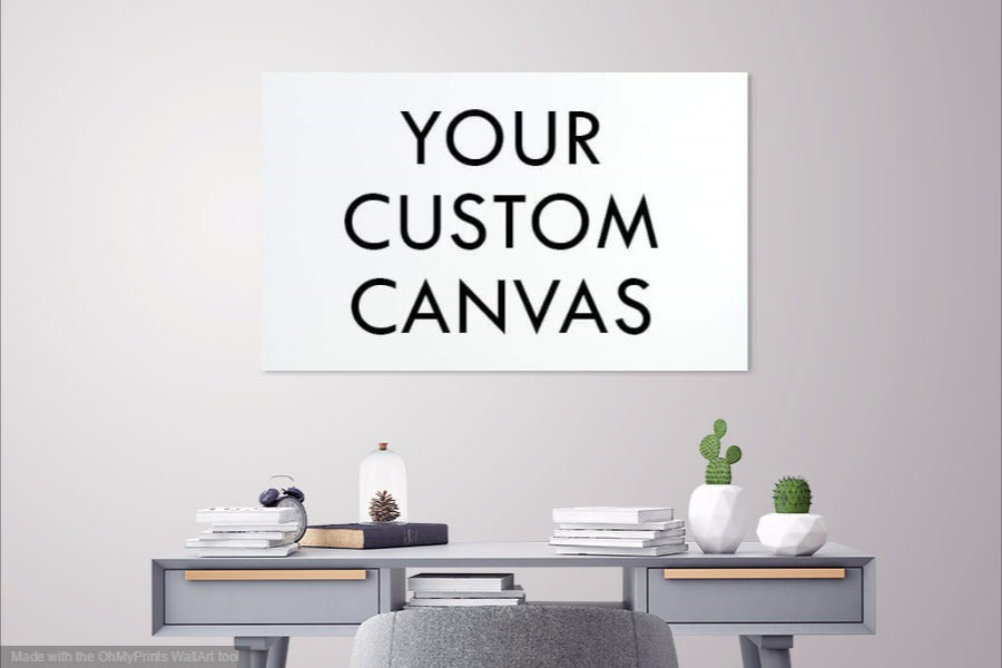 Custom Made - Your Own Picture On A Canvas 3 Pcs