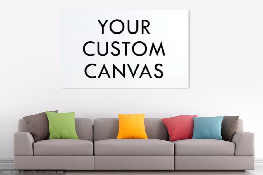 Custom Made - Your Own Picture On A Canvas 4 Pcs