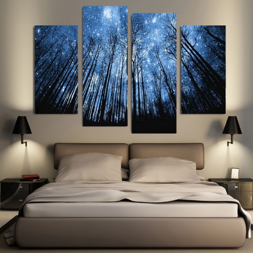 Dream Valley Canvas Wall Art 4 Pcs