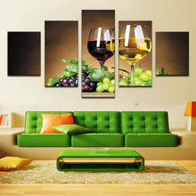 Wine Canvas 5 Pcs Wall Art