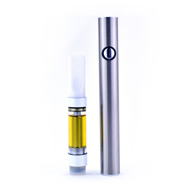 Full Spectrum CBD Oil Distillate Vape Cartridge (Low-THC Compliant) - Select A Strain
