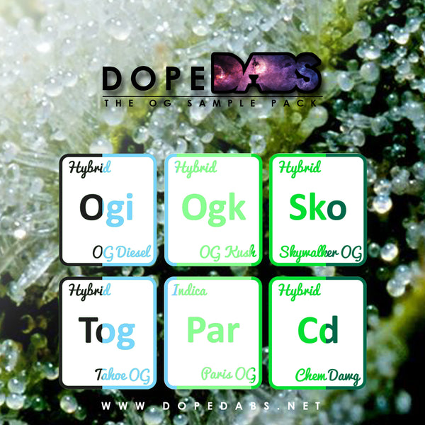 The OG - Sample Pack (6 x 1 mL)