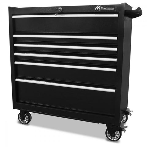 "Montezuma 36"" 6-Drawer Tool Cabinet BK3606TC - Tool Chest King"