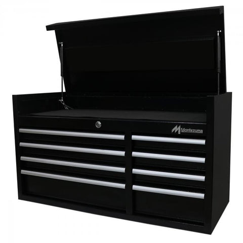 "Montezuma 41"" 8-Drawer Tool Chest BK4108CH - Tool Chest King"