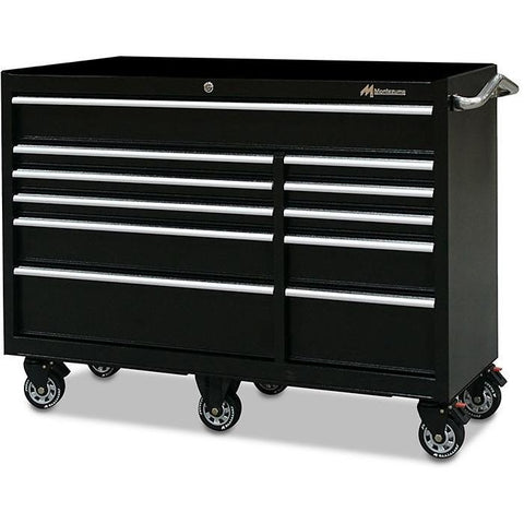 "Montezuma 56"" 11-Drawer Tool Cabinet BK5611TC - Tool Chest King"
