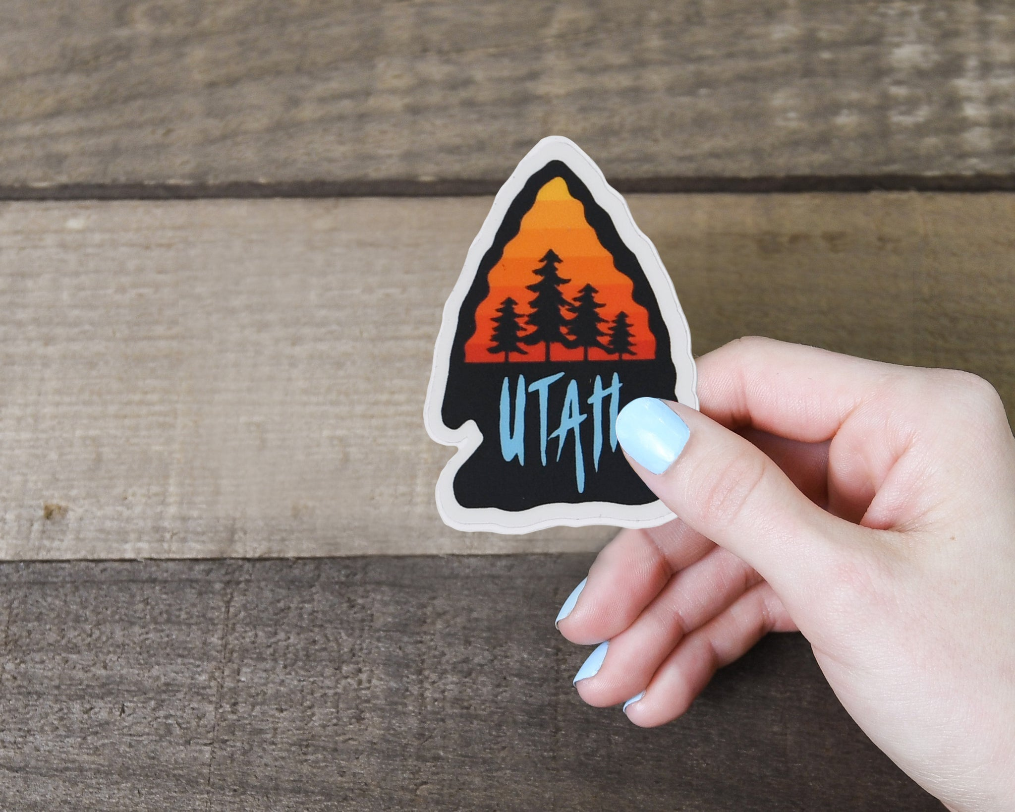 Utah Arrowhead Sticker