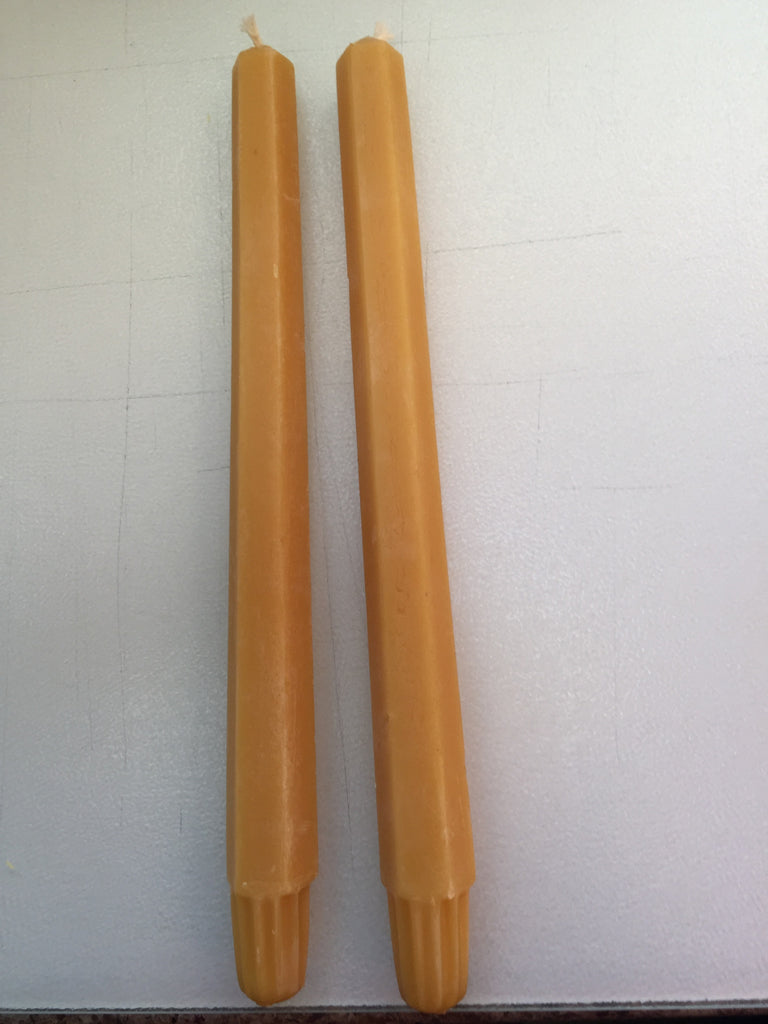 Pure beeswax 10.5 inch Taper Candles