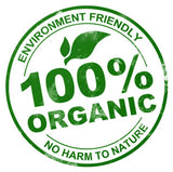 !00% Organic - Environment friendly