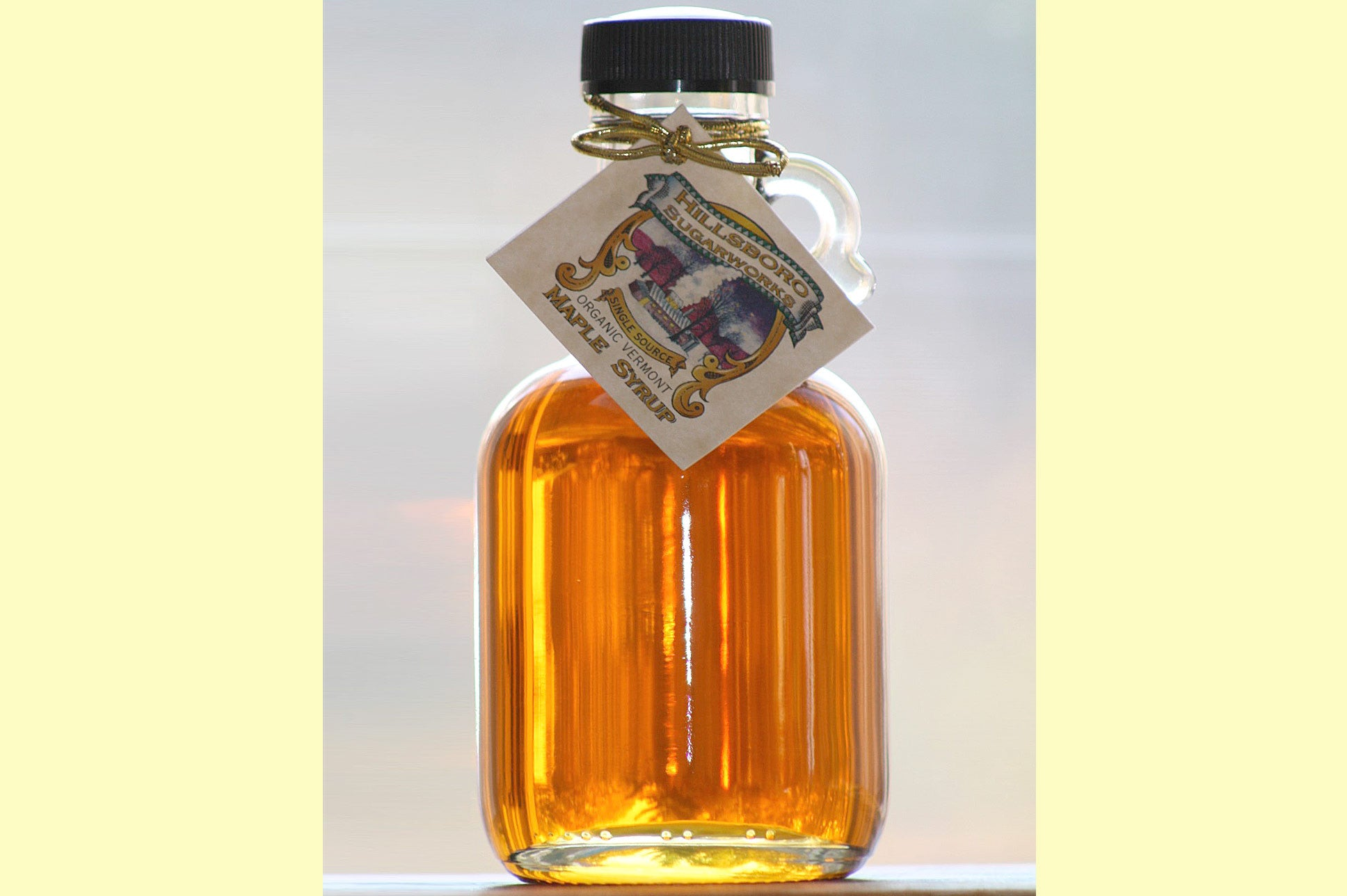 Hillsboro Sugarworks Grade A Golden Delicate or Amber Rich 250 ml.