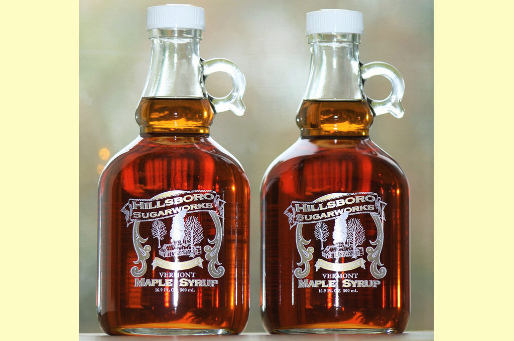 Hillsboro Sugarworks 500 ml. Glass Maple Syrup