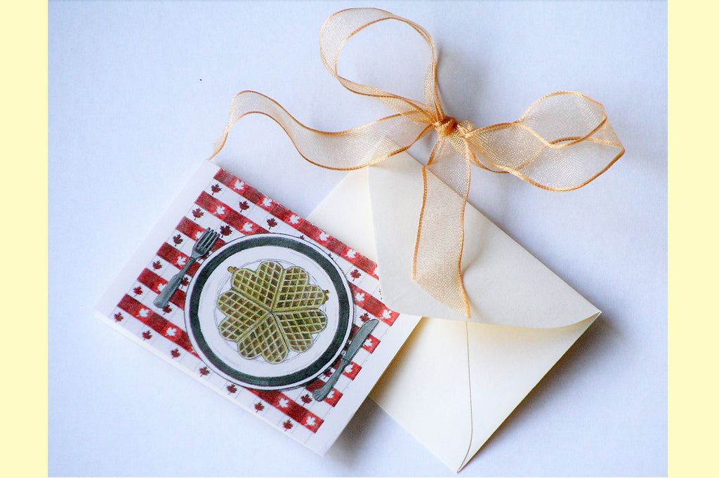 Hillsboro Sugarworks gift card and bow
