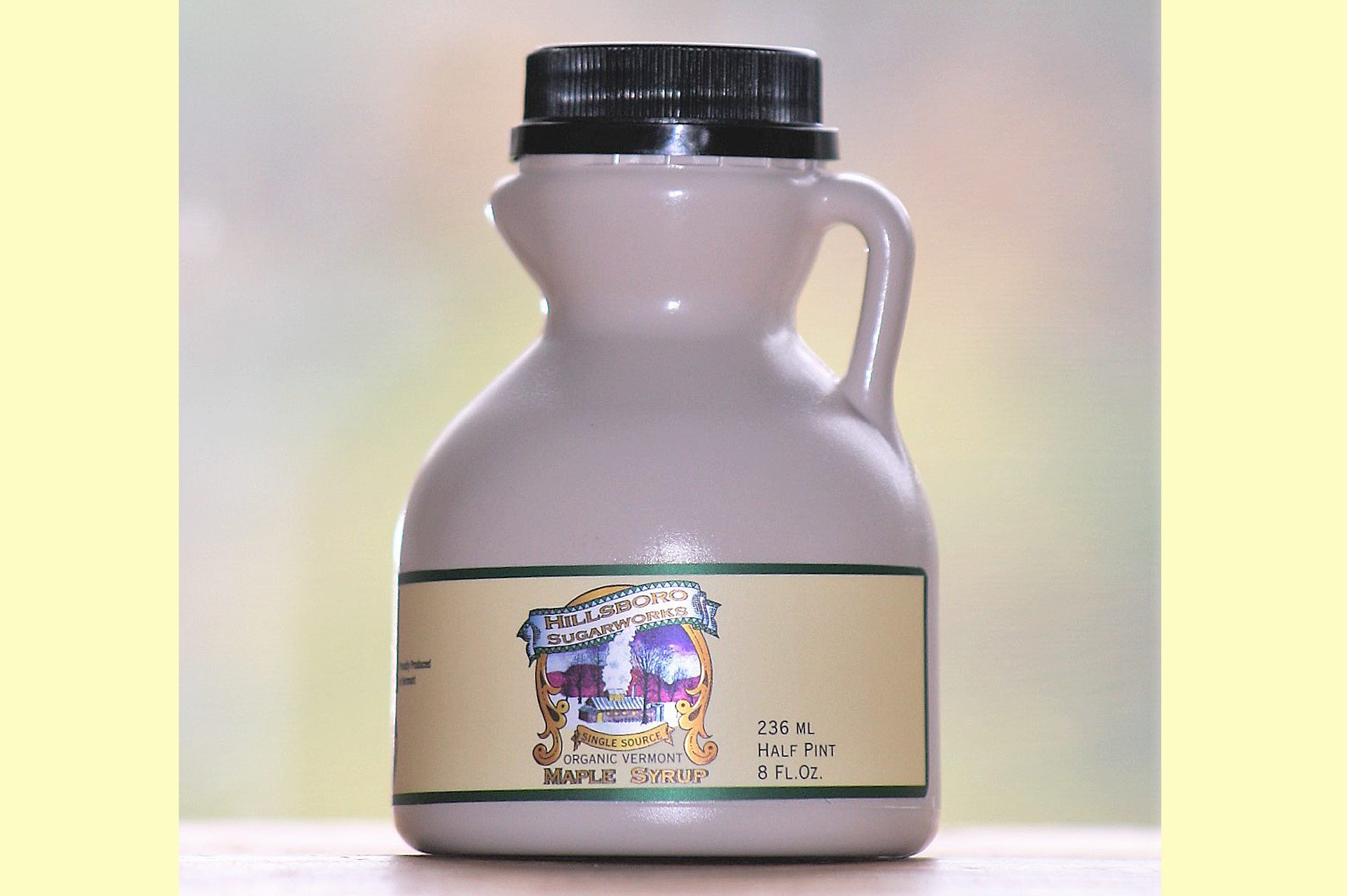Hillsboro Sugarworks 1/2 pint Vermont maple syrup