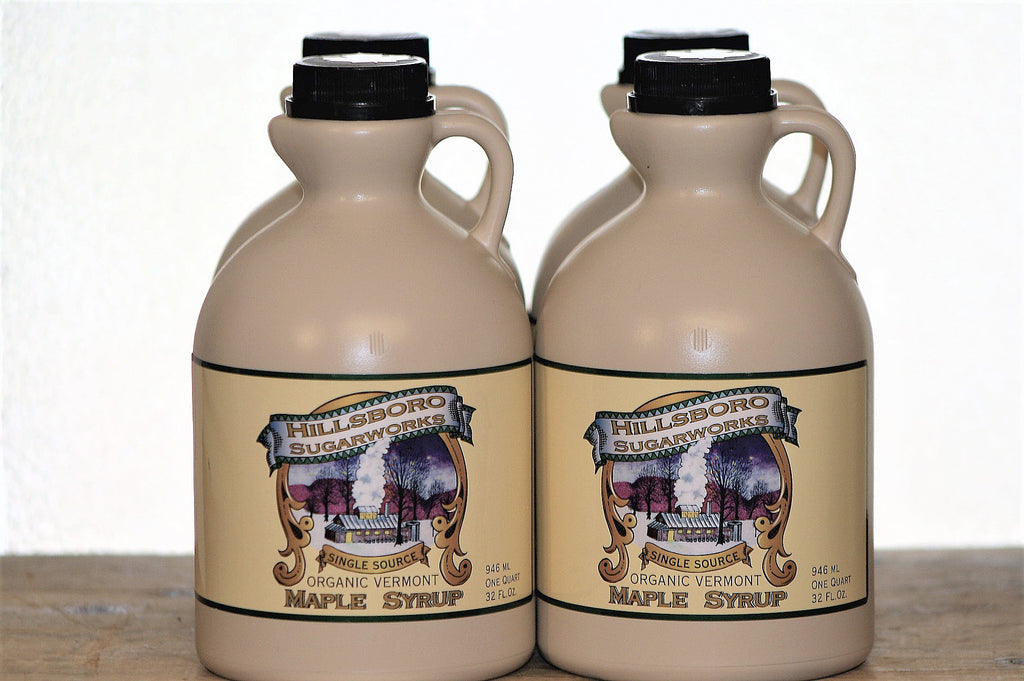 Hillsboro Sugarworks quart Vermont maple syrup