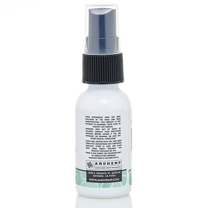 AndHemp - CBD Pet Spray - Hot Spot - 250mg-500mg