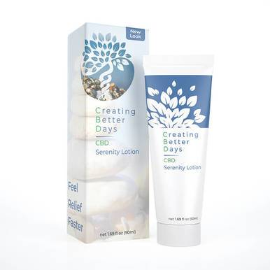 Creating Better Days - CBD Topical - Serenity Lotion - 300mg