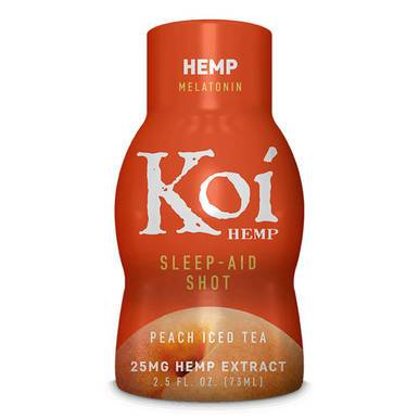 Koi CBD - CBD Drink Shot - Peach Iced Tea - 25mg