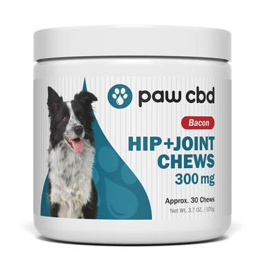 cbdMD - CBD Pet Treats - Bacon Canine Hip+Joint Chews - 150mg-600mg
