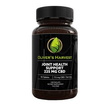Oliver's Harvest CBD - CBD Capsule - Joint Health Tablets - 7.5mg