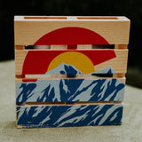 Wood Pallet Coasters- Assorted