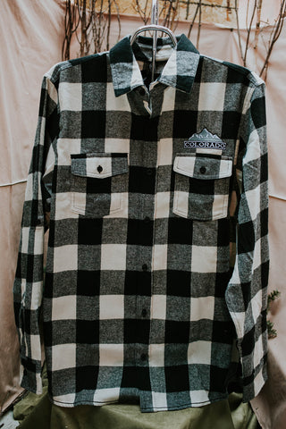 Flannel Embroidered Colorado