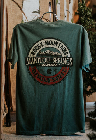 Comfort Colors Blue Spruce Shirt