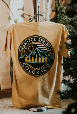Comfort Colors Electric Mtn Short Sleeve