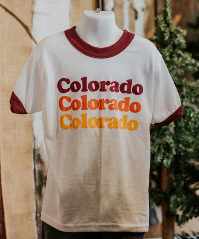 Retro Colorado Youth Tee