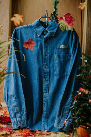 Long Sleeve Pocket Denim