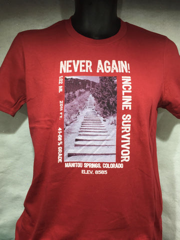 Incline Never Again Tee