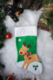 Custom Christmas Stocking B
