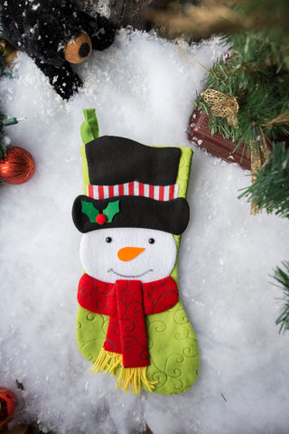 Custom Christmas Stocking F