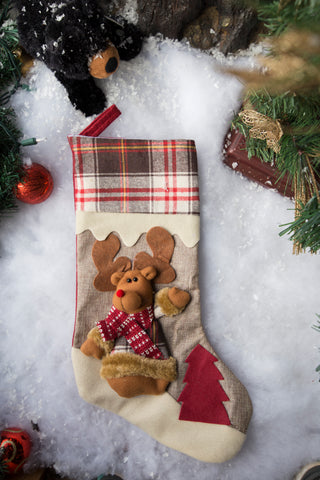 Custom Christmas Stocking K