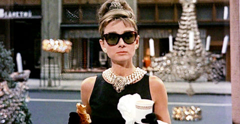 Audrey Hepburn in Breakfast at Tiffany's as Holly Golightly