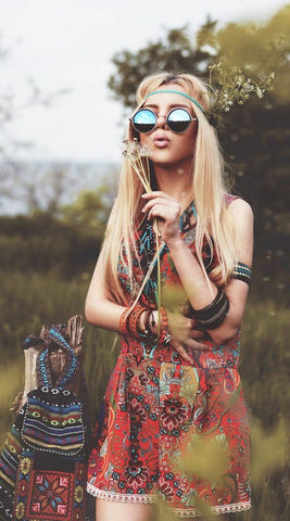 Female Hippie Look, Fashion Inspiration