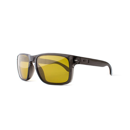 Fuse Lenses Yellow Yellow Tint replacement lenses shown in Oakley Holbrook frames
