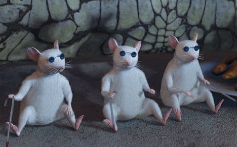The Three Blind Mice in the movie Shrek 2