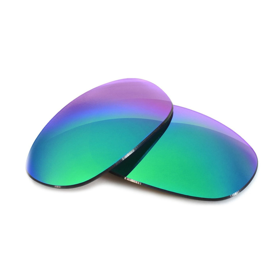 Sapphire Mirror Tint Replacement Lenses Compatible with Von Zipper Absinthe Sunglasses from Fuse Lenses
