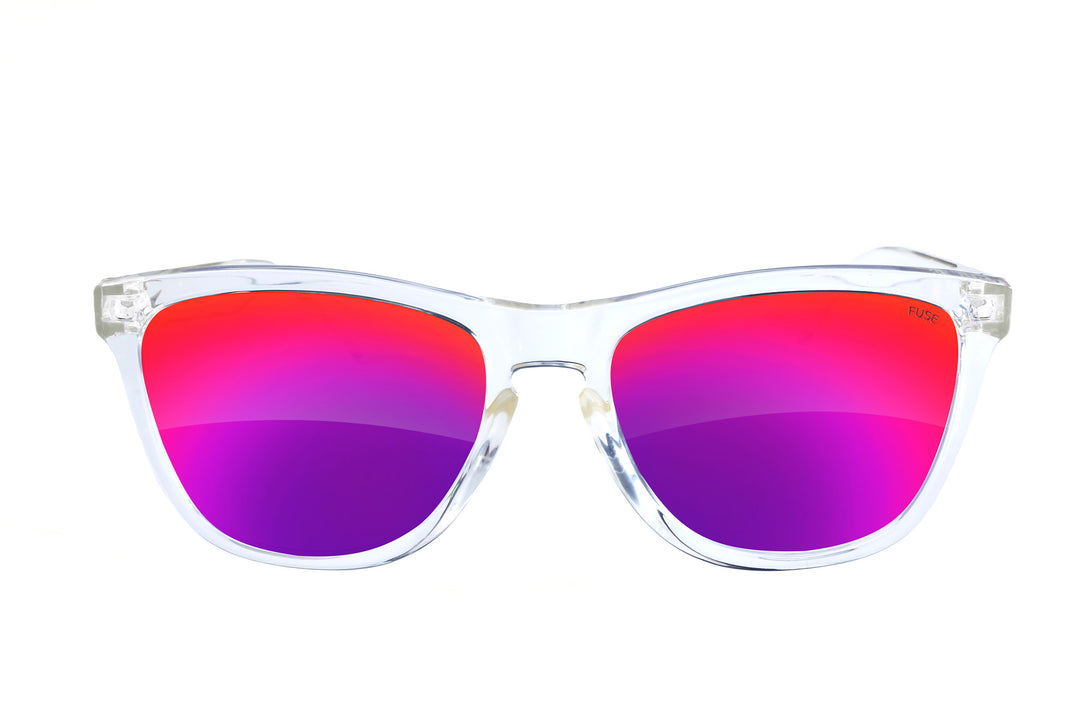 Fuse 3 Rooker Sunglasses | Clear