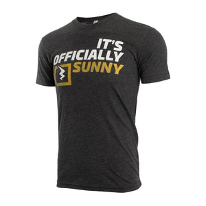 Charcoal Mens T-shirt with Sunny Design small medium large xl