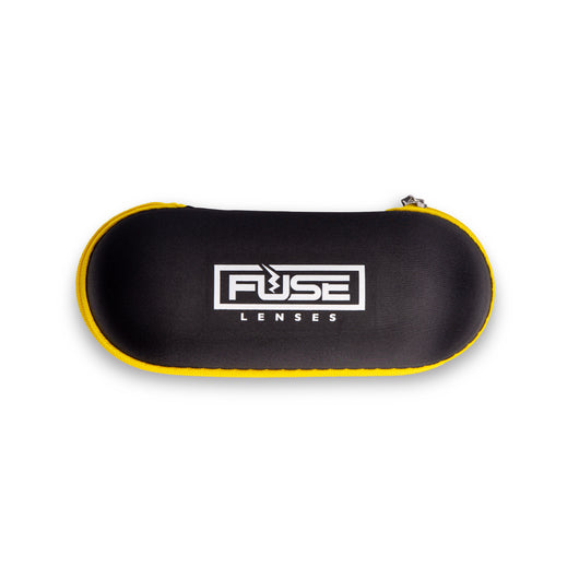 Top Down Pill-Shaped Hard Sunglasses Case