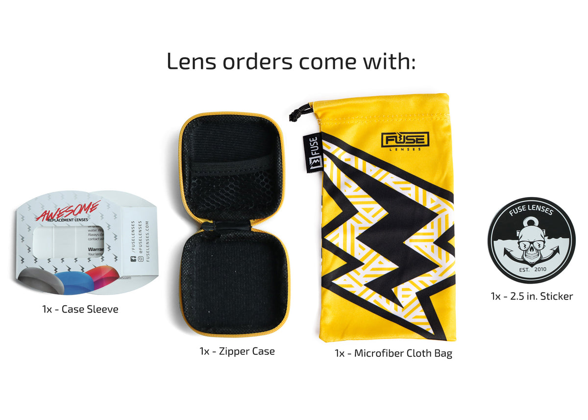 Fuse Lenses Polarized Replacement Lenses for Serengeti Legacy