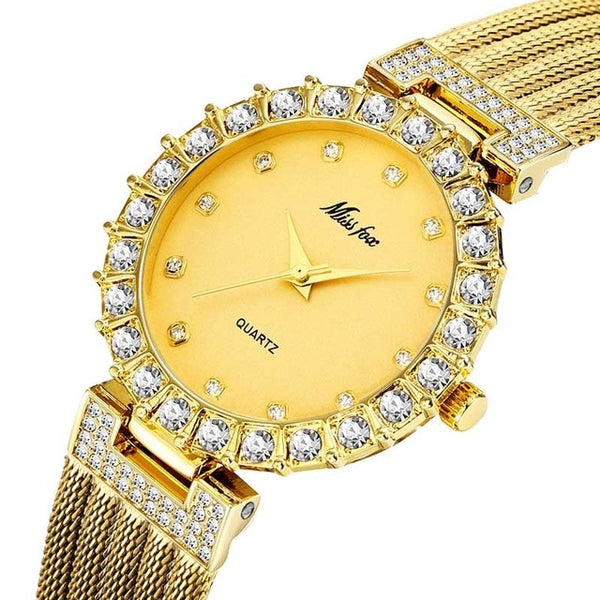 Women Luxury Brand Waterproof Diamond Wrist Watches Great Buy *Free Shipping