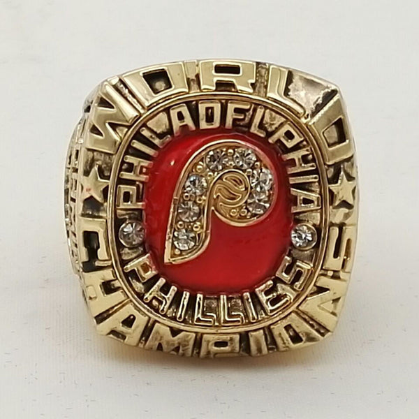 Factory Direct Sale 1980 Philadelphia Phillies World Series Championship Ring ,18k real gold plated good quality ring!!!!!