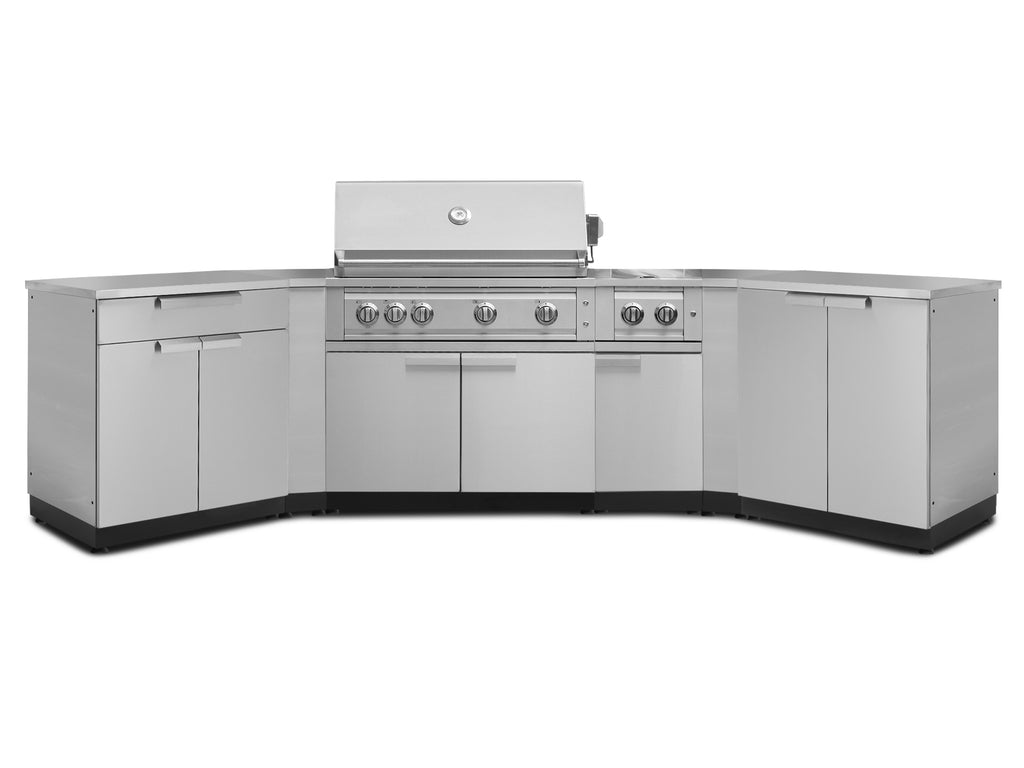 "Include Covers & Countertops / 40"" Grill & Grill Cabinet"